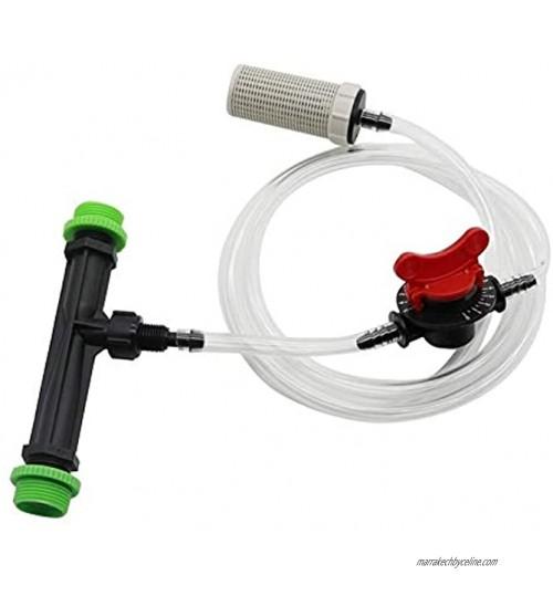 """Abkendg Sprinkler de Jardin 1 Set 3 4"""" à 1 2"""" kit d'injection d'engrais Venturi Agriculture Irrigation Automatique d'engrais Seringue Tuyau Filtre Valve Système d'irrigation"""