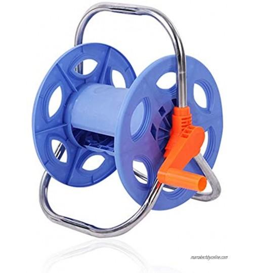 TTFLY Enrouleur de tuyau d'arrosage résistant à la rouille poignée en acier inoxydable outil portable pour économiser de l'espace