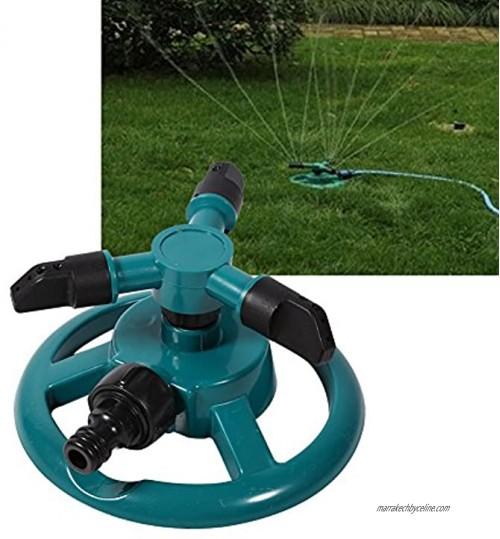 Socobeta Arroseur d'irrigation à 3 Buses Arroseur d'eau Rotatif à Cercle d'arrosage à 3 Buses pour Jardin pour l'arrosage pour l'irrigation
