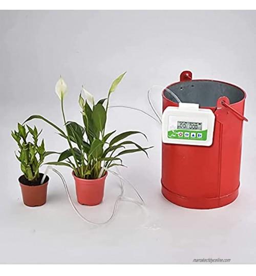 Dispositif darrosage automatique de jardin minuterie dirrigation goutte à goutte automatique pour plantes Jabroyee Kit dirrigation goutte à goutte pour plantes dintérieur automatique