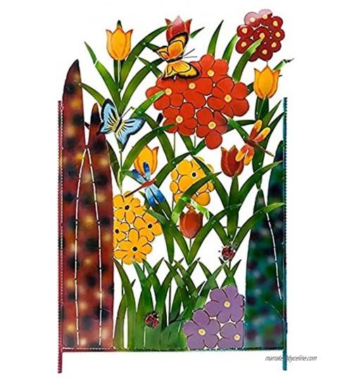 Clôtures Décoratives Panneaux De Palissade En Métal De Paysage De Décor De Jardin Bordure De Bordure De Lit De Fleur De Patio Clôture De Jardin
