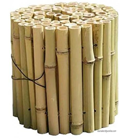 LIQICAI-WEILAN Treillage Jardin Clôtures Décoratives Clôture De Terrasse en Bambou Intérieur Extérieur Patio De Pelouse Garde De Protection Décor De Bordure 7 Taille