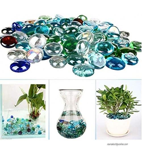 takestop® Eden_483 Galets de Pierres colorées 400 gm décoration pour Aquarium Bassin Jardin