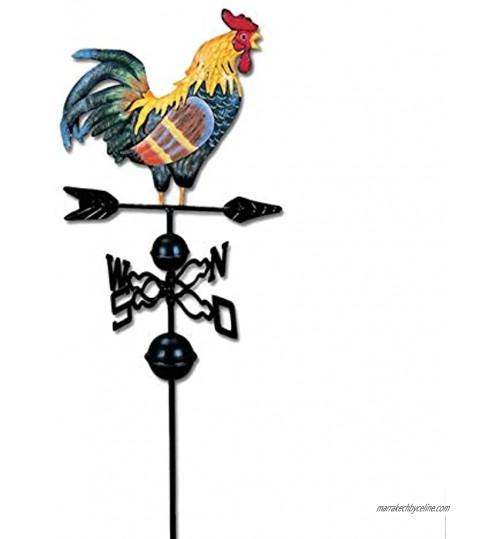 Kit Girouette Coq Dessin Couleur Traditionnel Directions Du Coq Girouette Convient Pour Le Toit La Cabane La Cour Indiquant La Direction Du Vent