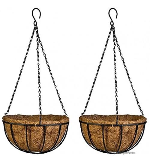 Pot de fleurs à suspendre des Producteurs Panier de fleurs de noix de coco en fibre de coco Husk Pot de fleurs décoratifs Panier fer Intérieur extérieur à suspendre Pot de fleurs Fleur support